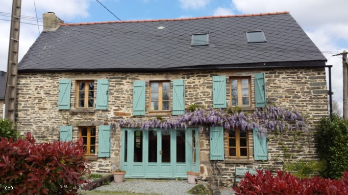Cars For Sale St Malo France: Charming 4/5 Bedroom Barn Conversion House In Brittany